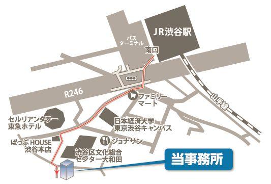 shibuya-map